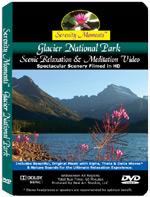 Glacier National Park relaxation DVD