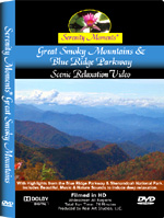 Great Smoky Mountains & Blue Ridge Parkway relaxation DVD